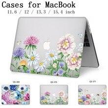 Чехол для ноутбука Apple Macbook 13,3 15,6 дюймов горячий для MacBook Air Pro retina 11 12 13 15,4 с защитной клавиатурой
