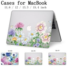 Funda para ordenador portátil para Apple Macbook 13,3 15,6 pulgadas caliente para Macbook Air Pro Retina 11 12 13 15,4 con Protector de pantalla teclado Cove