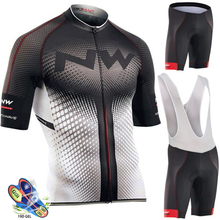 2019 NW Cycling Jersey Set Summer Racing Bicycle Clothing Suit Quick-Dry Mountain Bike Sportswear