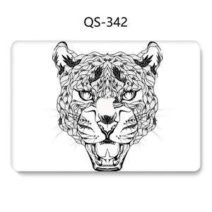 Image 2 - جديد محمول جراب للماك بوك 13.3 15.6 بوصة ل حار ماك بوك اير برو الشبكية 11 12 13 15.4 مع واقي للشاشة لوحة المفاتيح كوف هدية