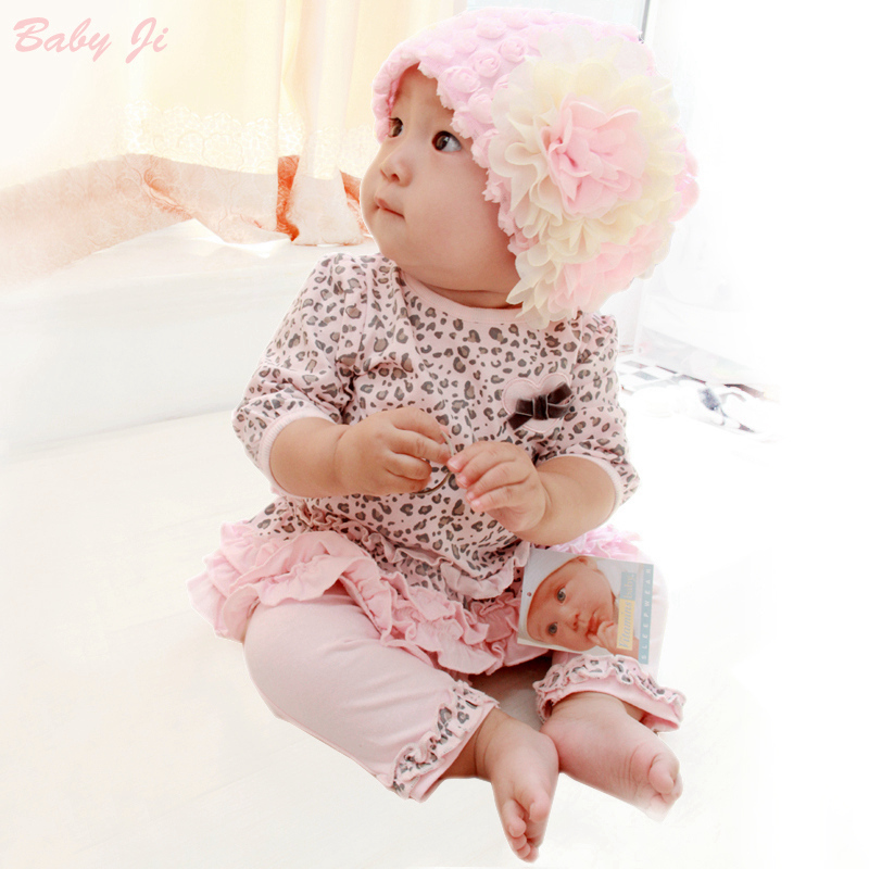 Girl Spring Clothes Suit 2018 New Pattern Baby set 2pcs suit Childrens And Pure Cotton