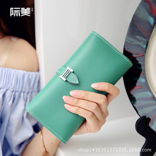 International Beauty 2018 New Style Ms Wallet Korean Version of the Influx of Drawstring Large Capacity Fashion Wallet Card Bit джинсы мужские influx of brand ys882 ape