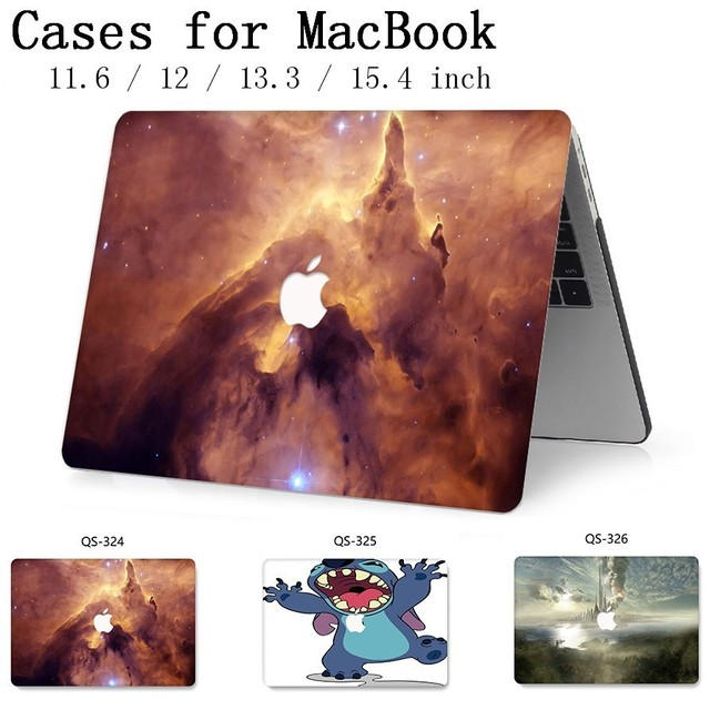 Laptop Bag Case Hot For MacBook Air Pro Retina 11 12 13 15.4 For Macbook 13.3 15.6 Inch With Screen Protector Keyboard Cove Gift