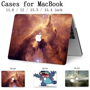 Image 1 - Сумка для ноутбука чехол Горячий для MacBook Air Pro retina 11 12 13 15,4 для Macbook 13,3 15,6 дюймов с защитой экрана клавиатуры в подарок