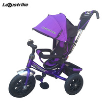 Велосипед детский 3-х колесный  Lexus trike, надувные колеса 12 и 10\