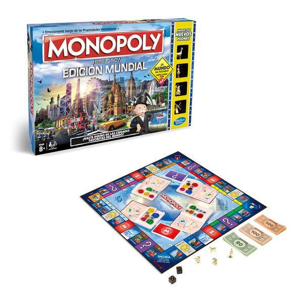 Monopole édition mondiale Hasbro