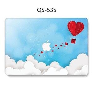 Image 3 - Macbook のラップトップケース 13.3 15.4 インチ Macbook Air Pro の網膜 11 12 13 15 スクリーンプロテクターキーボード入り江リンゴの袋ケース
