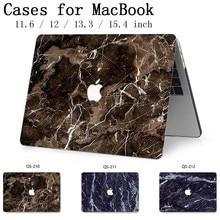 Para o Caso de Notebook Laptop Sleeve Para Hot New MacBook Air Pro Retina 11 12 13 13.3 15.4 Polegada Com Tela protetor de Teclado Enseada