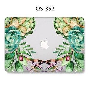 Image 3 - Yeni Laptop Case Için Sıcak Macbook 13.3 15.6 Inç MacBook Hava Pro Retina 11 12 13 15.4 Ekran koruyucu Klavye Kapağı Hediye