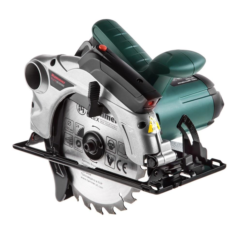 Circular saw Hammer Flex CRP1500D 1500W 4700r min 190x30mm max 67 mm saw недорого