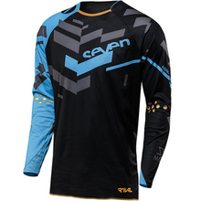2018 Bicyle Jersey Mens Seven DH Downhill Ropa Ciclismo Off Road MTB Motocross Long Sleeve Breathable Cycling