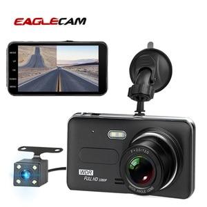 Image 1 - Car Dvr Camera 4.0 Inch Screen Full HD 1080P Dual Lens with Rear View Dashcam Auto Registrar Car Video Recorder DVRs Camcorder