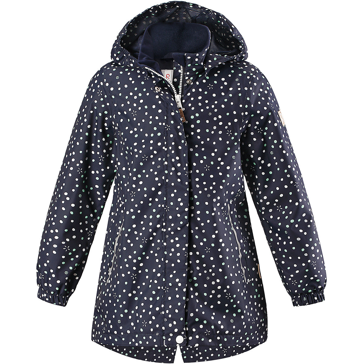 REIMA Jackets 7632638 for girls polyester winter  fur clothes girl 2016 new style popular 18 inch american girl doll pajamas clothes dress for christmas gift abd 072