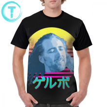 Nicolas Cage T Shirt T-Shirt 100 Polyester Fashion Graphic Tee Mens 6xl Cute Short-Sleeve Printed Tshirt