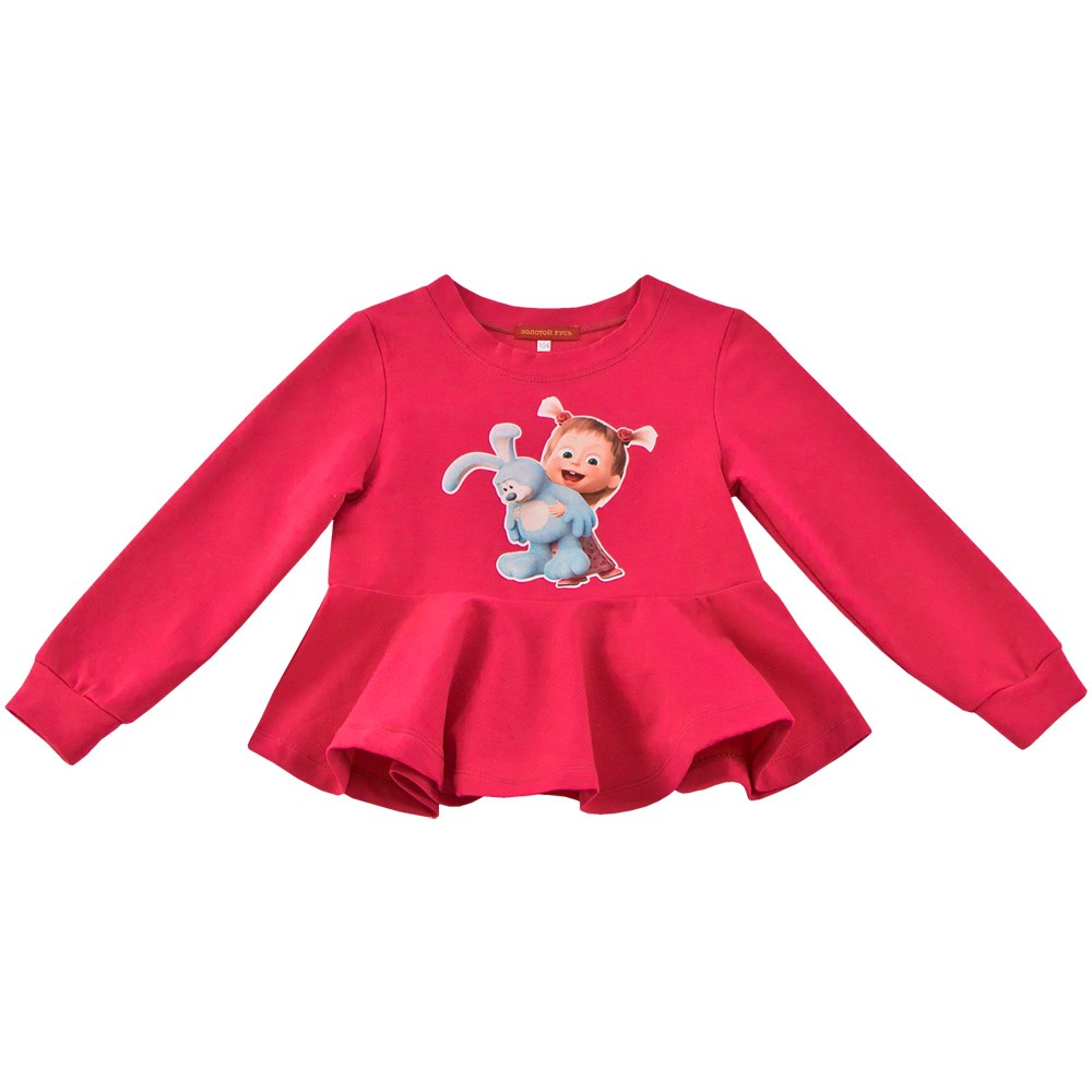 Blouse-sweatshirt kids clothes children clothing kids letter print sweatshirt