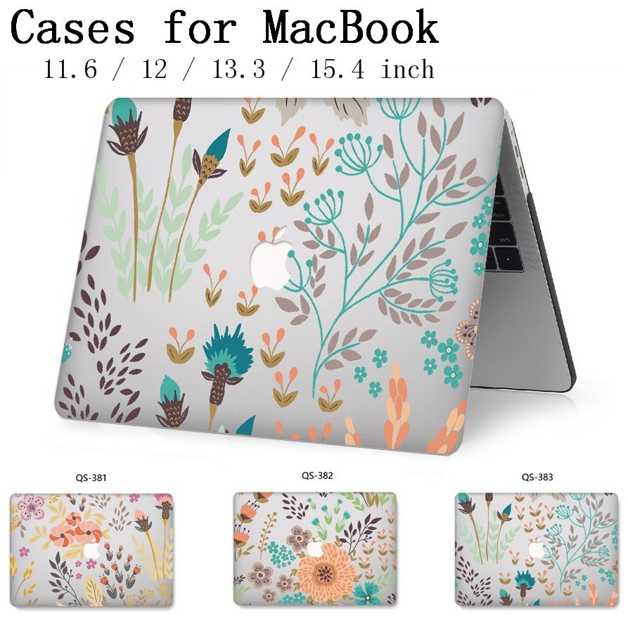Hot Laptop Case For Apple Macbook 13.3 15.6 Inch For MacBook Air Pro Retina 11 12 13 15.4 With Screen Protector Keyboard Cove-in Laptop Bags & Cases from Computer & Office