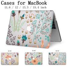 Hot Laptop Case For Apple Macbook 13.3 15.6 Inch For MacBook Air Pro Retina 11 12 13 15.4 With Screen Protector Keyboard Cove