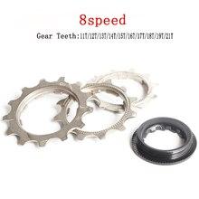 Mountain Bicycle Flywheel Teeth 11T 12T 13T 14T 15T 16T 17T 18T 19T 21T 8 SpeedSteel Freewheel Gear Denticulate Repair Parts