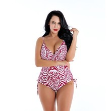 Plus Size Swimwear Women One Piece 2019 Swimsuit Push Up Girl Swimming Suit For Large Size Swim Suit Bikini Sexy купальник купальник overflowing kai 1379 2015summer women neoprene swimwear bikini triangl