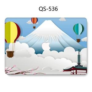 Image 4 - Macbook のラップトップケース 13.3 15.4 インチ Macbook Air Pro の網膜 11 12 13 15 スクリーンプロテクターキーボード入り江リンゴの袋ケース