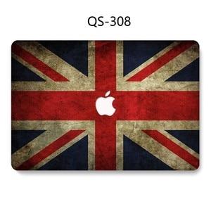 Image 4 - Funda para portátil Macbook Air Pro Retina 11 12 13 15,4 para Macbook 13,3 de 15,6 pulgadas con Protector de pantalla teclado Cove regalo