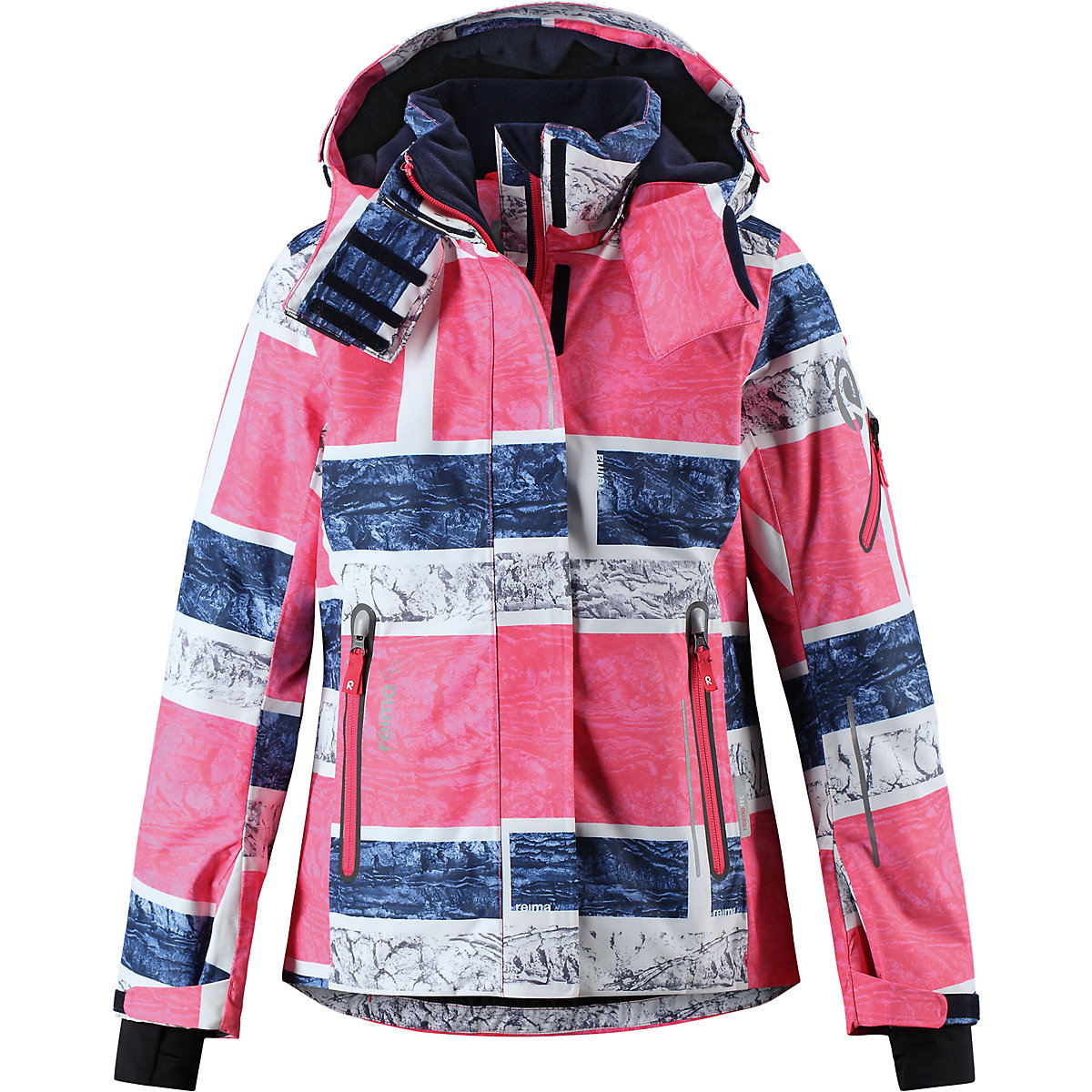 REIMA Jackets 8689577 for girls polyester winter  fur clothes girl 2016 new style popular 18 inch american girl doll pajamas clothes dress for christmas gift abd 072