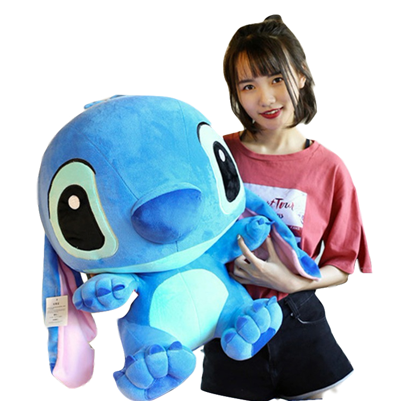 Flounder Stuffed Animal, 1pc 55 65 80cm Kawaii Giant Stitch Plush Doll Toys Anime Lilo And Stitch Plush Toy Children Kid Birthday Gift Baby Appease Gift Aliexpress Com Imall Com