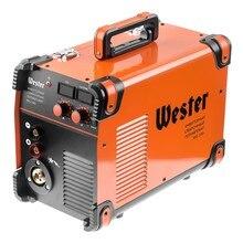 Сварочный полуавтомат инверторный WESTER MIG-200i  MIG/MAG/MMA 40-200A 0.6-1.2 мм евроразьем