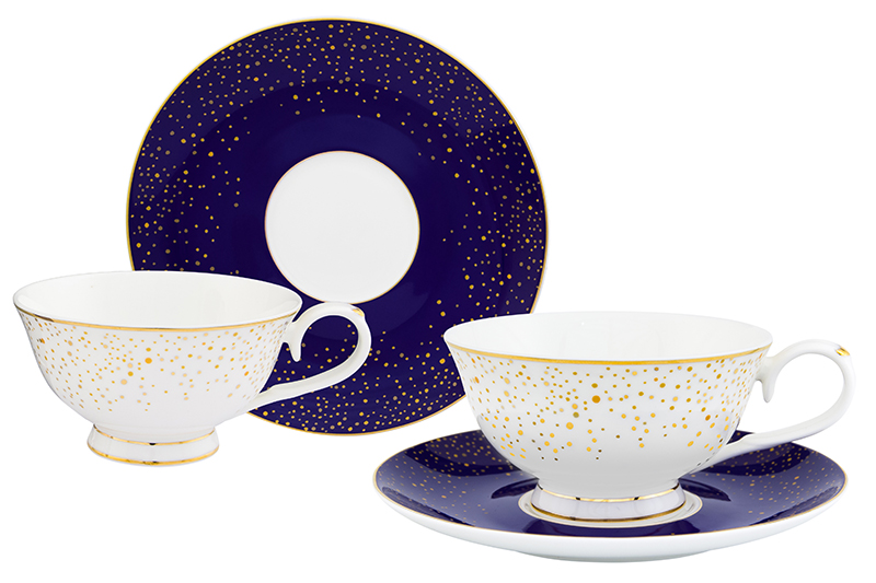 Available from 10.11 Tea pair Day and night 4 items Elan Gallery 530081