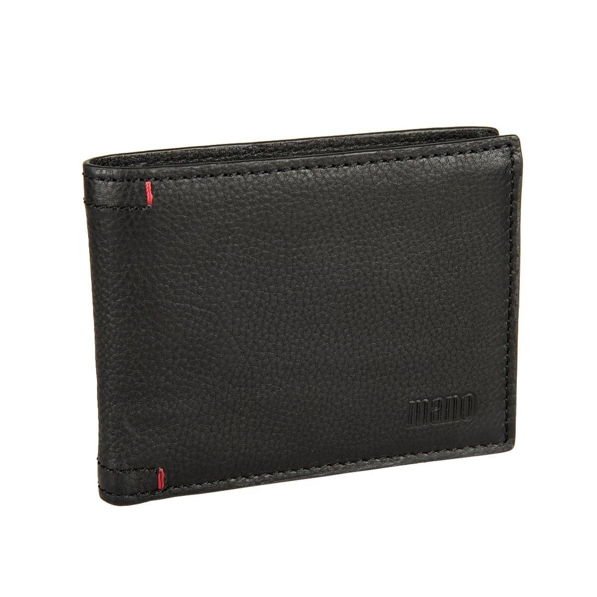 Coin Purse Mano 19952 black кошельки бумажники и портмоне mano 19952 black