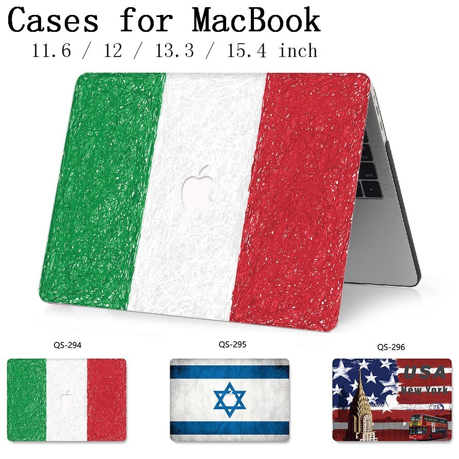 Hot For Laptop Case For MacBook Air Pro Retina 11 12 13 15.4 13.3 Inch With Screen Protector Keyboard Cove New Notebook Sleeve-in Laptop Bags & Cases from Computer & Office