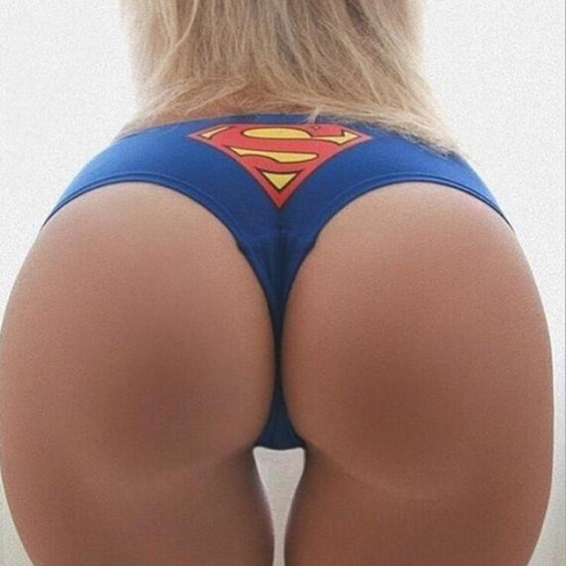 Women's Movement Beach Triangle Shorts Superman Batman American Captain Print Women Mini Sexy Shorts 90% Cotton Size S-xl New