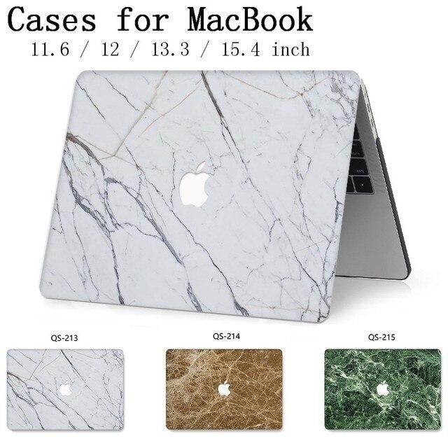 Para o Caso de Notebook Luva Do Portátil Novo Para MacBook Air Pro Retina 11 12 13 Quente 13.3 15.4 Polegada Com Tela protetor de Teclado Enseada