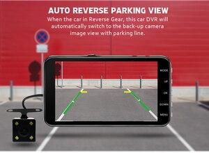 Image 5 - Auto Dvr Kamera 4,0 Inch Bildschirm Full HD 1080P Dual Objektiv mit Rückansicht Dashcam Auto Kanzler Auto Video recorder DVRs Camcorder