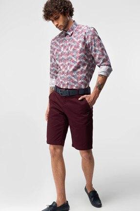 Bordeaux Men's Shorts - Chino Smart - Casual