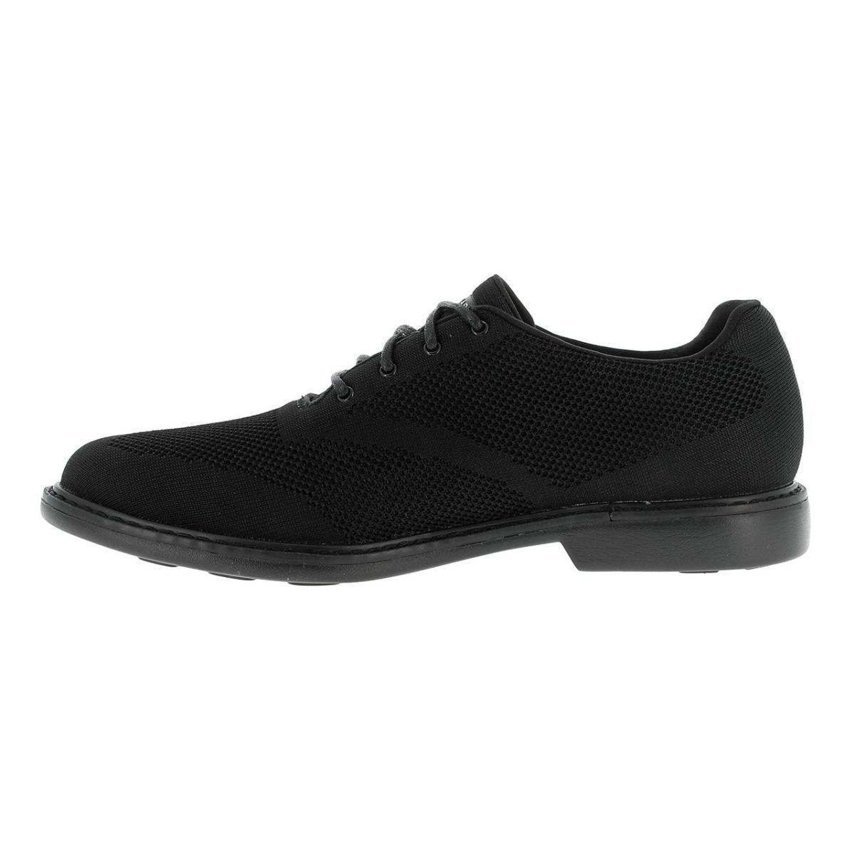 Textil Casual Hombre Skechers Negro Zapatos cBqnUnFW