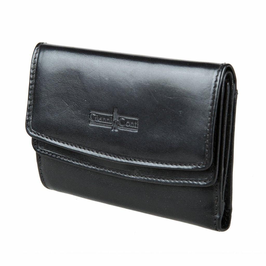 Purse Gianni Conti 908819 black women s fashion pu leather messenger hobo handbag purse shoulder bag purse lady tote black