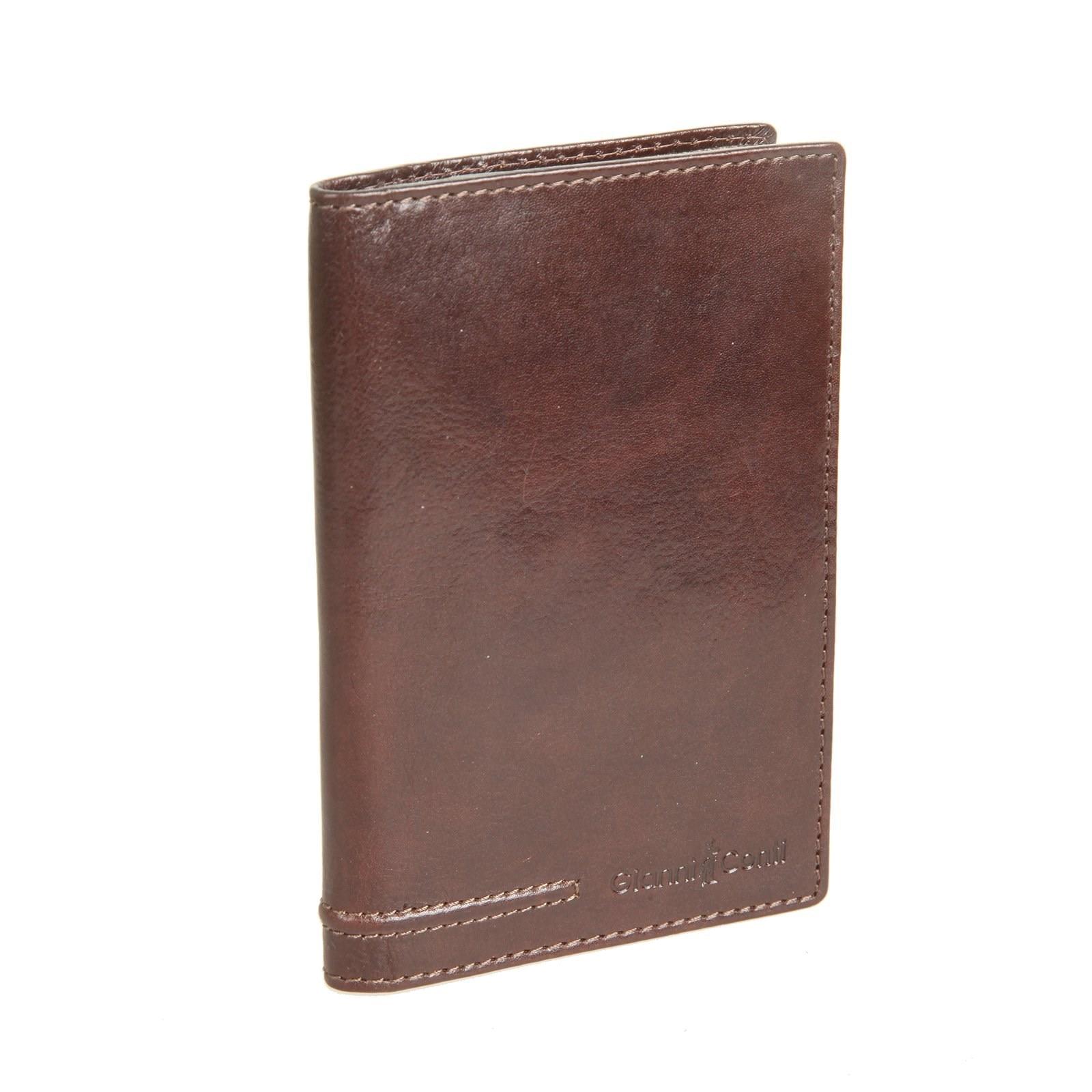 Passport cover Gianni Conti 707455 Brown foreverfriendsfashion pu lear passport holder world map travel passport cover case brand passport holder documents folder bag