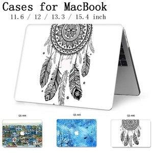 Image 1 - Новый горячий для MacBook Air Pro retina 11 12 13 15 для Apple Чехол сумка для ноутбука 13,3 15,4 дюймов с защитой экрана клавиатуры