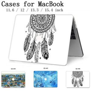 Image 1 - New Hot For MacBook Air Pro Retina 11 12 13 15 For Apple Laptop Case Bag 13.3 15.4 Inch  With Screen Protector Keyboard Cove tas