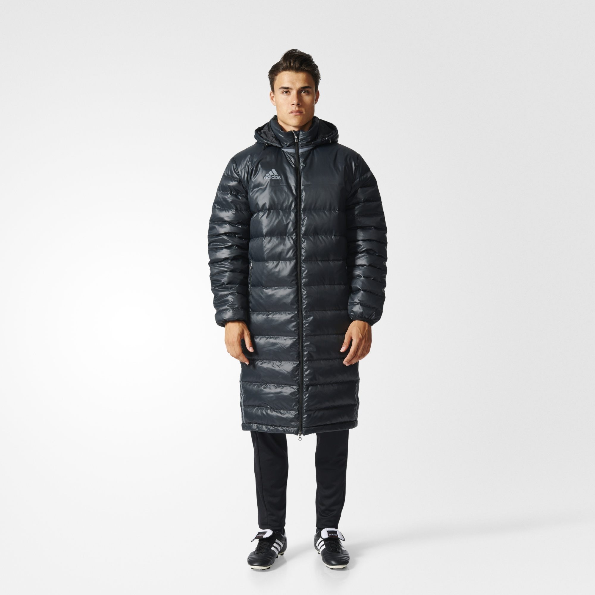 Overcoat Adidas AX6458 sports and entertainment for men
