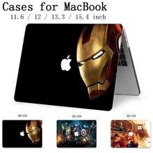 Caso Laptop Para Novo Macbook 13.3 15.6 11 12 13 Polegada Para MacBook Air Pro Retina 15.4 Com Protetor de Tela teclado Enseada Presente Hot