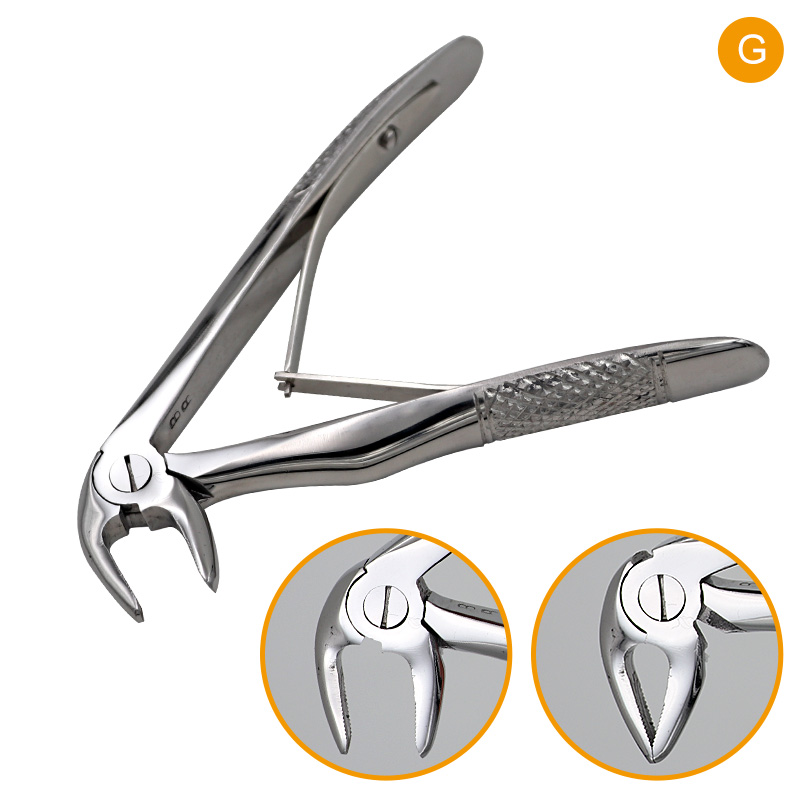 7pcs Dental Children Teeth Forcep Stainless Steel Extracting Pliers Set Dentist Surgical Clinic Tools With Kit Oral Teeth Care in Teeth Whitening from Beauty Health