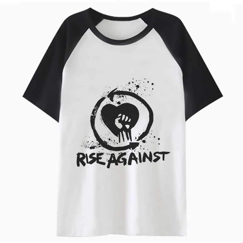 rise against   t     shirt   tee for harajuku hop   t  -  shirt   tshirt men clothing funny streetwear top male hip C2849