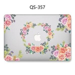 Image 2 - Hot New Laptop Case Para Macbook 13.3 15.6 11 12 13 Polegada Para MacBook Air Pro Retina 15.4 Com Tela protetor de Teclado Enseada Presente