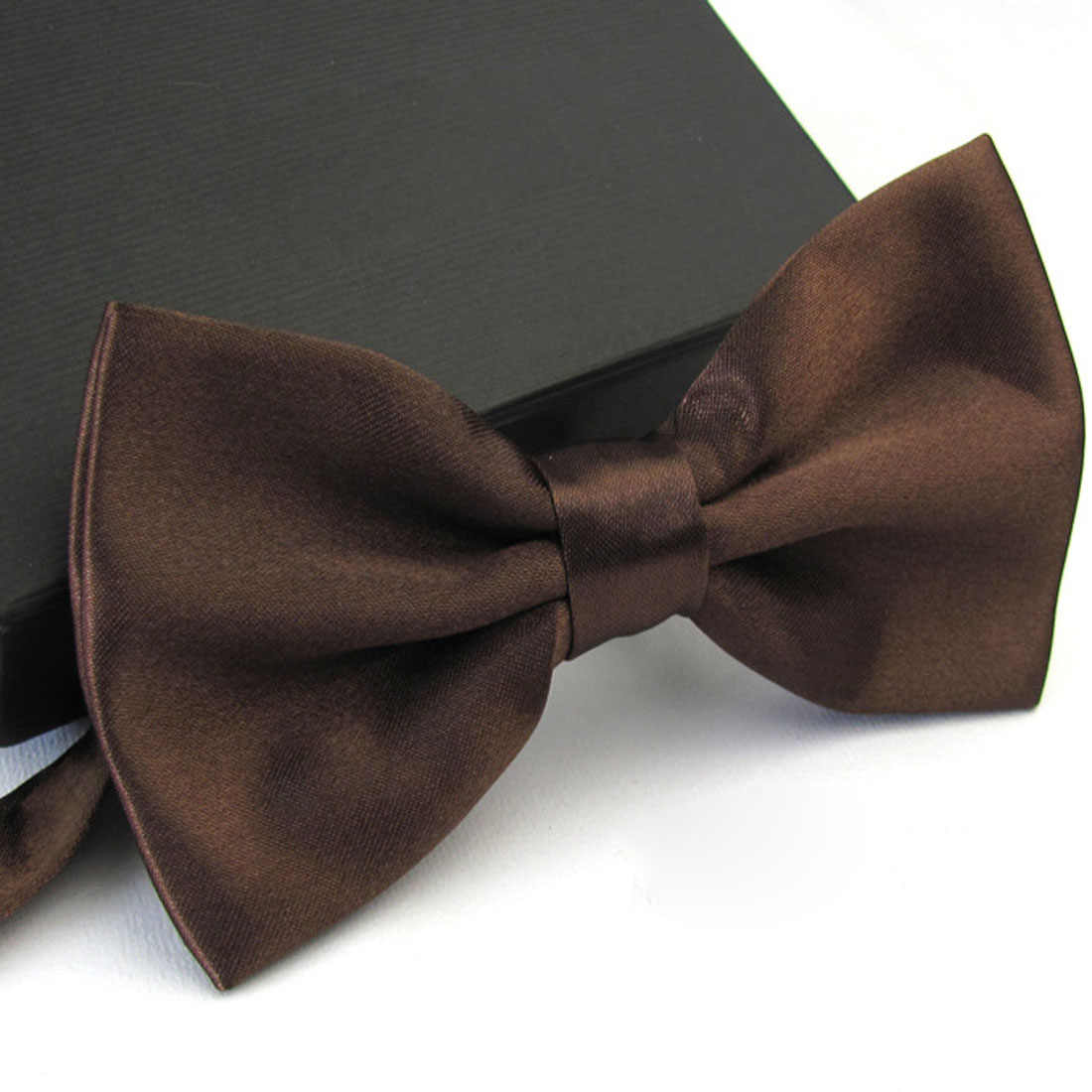 1 قطعة شهم الرجال الكلاسيكية الحرير بووتي ربطة العنق ل الزفاف حزب قابل للتعديل ربطة القوس فيونكة عقدة gravata هدايا للرجال عيد الميلاد