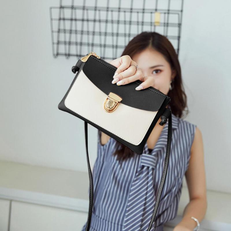 2018 New Bullet Lock Small Side Of Mini Mobile Phone Bag Messenger Bag Nice Women Bags Shoulder Bags Fashion Handbags 2