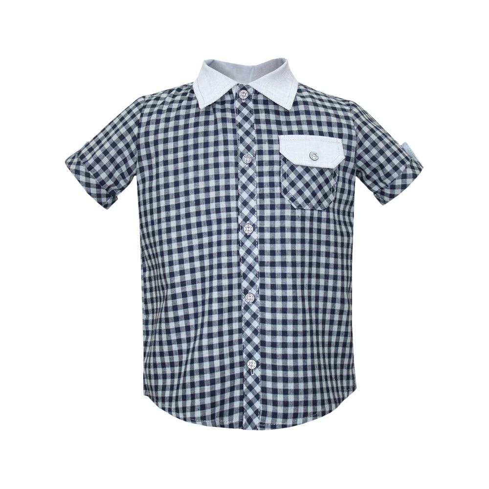 Plaid shirt gray long sleeve edging plaid shirt