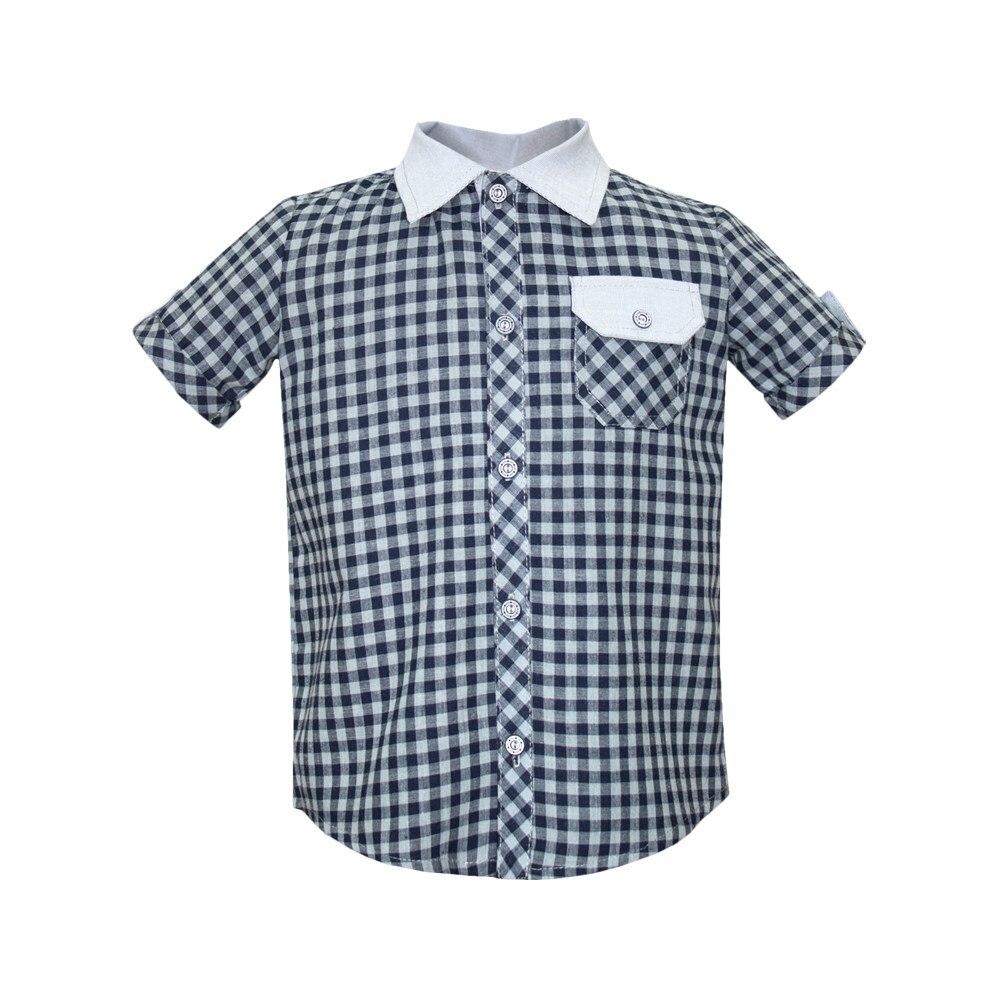 Plaid shirt gray shirt men s short sleeve casino c335 0 7461 z gray