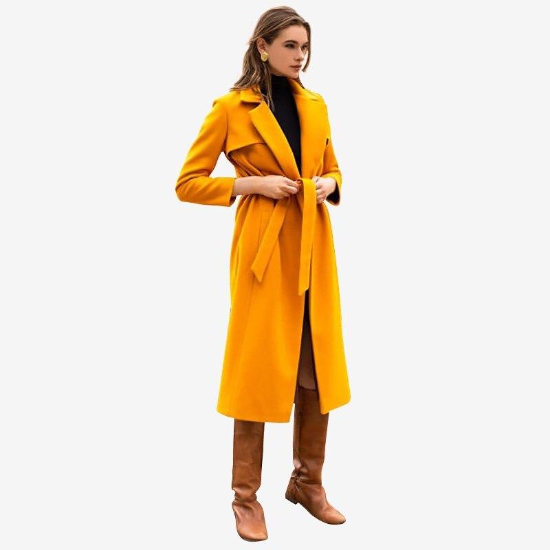 Фото - Coat. Color mustard. velvet hooded color block coat